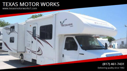 2013 Jayco Redhawk XL 31FT for sale at TEXAS MOTOR WORKS in Arlington TX
