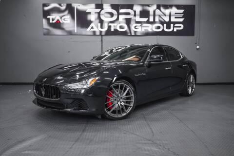 2014 Maserati Ghibli for sale at TOPLINE AUTO GROUP in Kent WA
