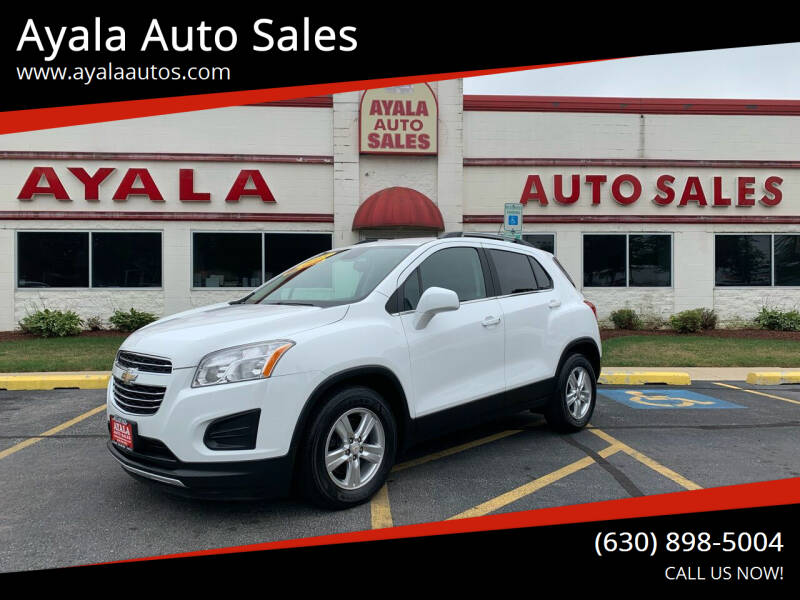 2015 Chevrolet Trax for sale at Ayala Auto Sales in Aurora IL