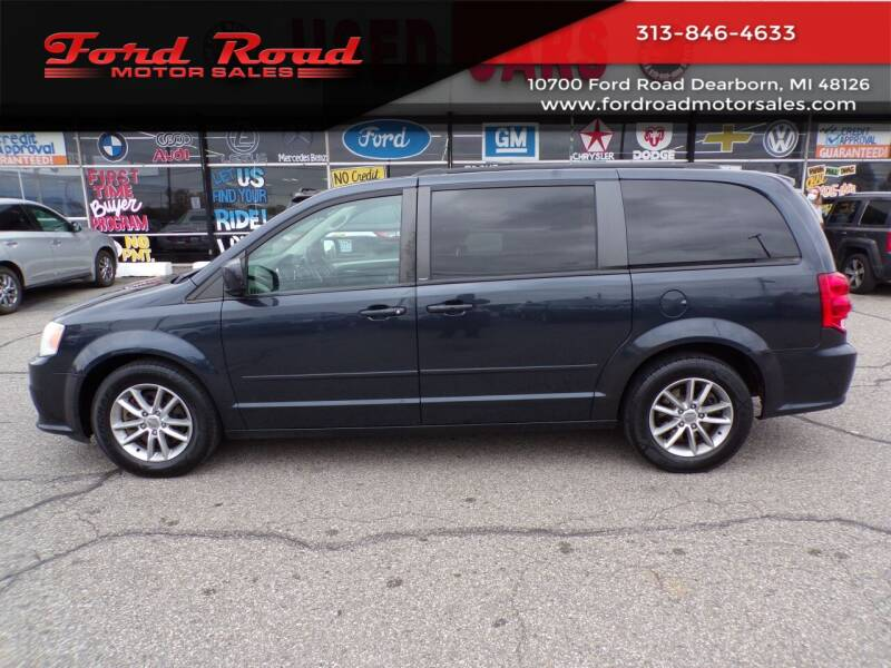 2013 Dodge Grand Caravan for sale at Ford Road Motor Sales in Dearborn MI