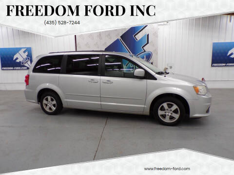 2012 Dodge Grand Caravan for sale at Freedom Ford Inc in Gunnison UT