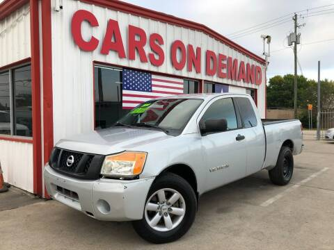 2011 Nissan Titan for sale at Cars On Demand 3 in Pasadena TX