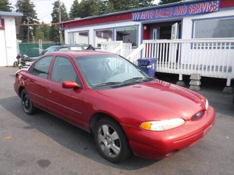 1996 Ford Contour for sale at 777 Auto Sales and Service in Tacoma WA