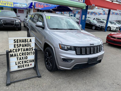 2017 Jeep Grand Cherokee for sale at 4530 Tip Top Car Dealer Inc in Bronx NY