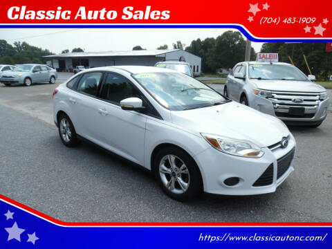 2013 Ford Focus for sale at Classic Auto Sales in Maiden NC