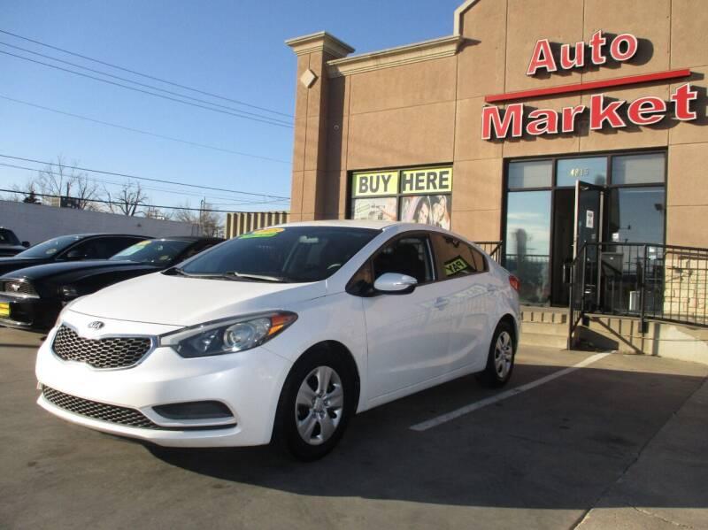 2015 Kia Forte for sale at Auto Market in Oklahoma City OK