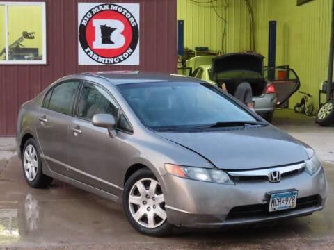2007 Honda Civic for sale at Big Man Motors in Farmington MN