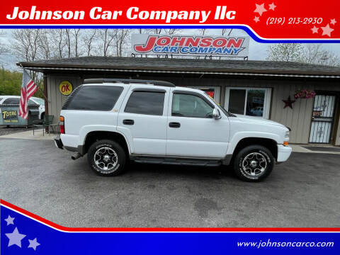 2004 Chevrolet Tahoe for sale at Johnson Car Company llc in Crown Point IN