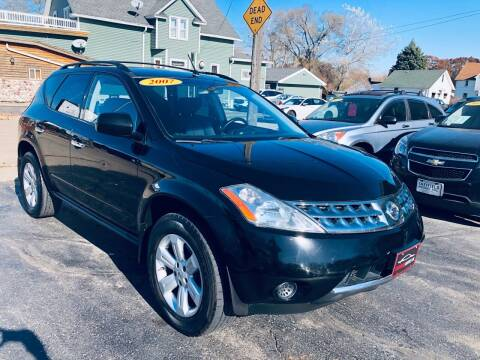 2007 Nissan Murano for sale at SHEFFIELD MOTORS INC in Kenosha WI