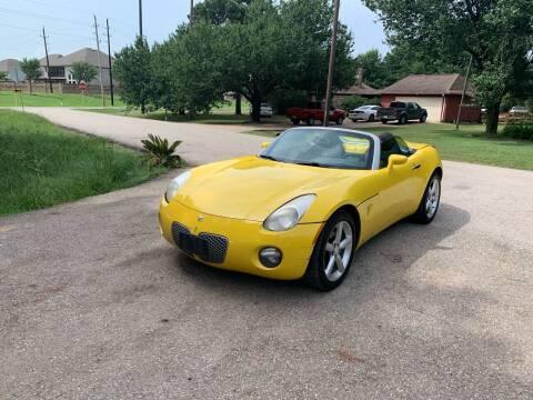 2009 Pontiac Solstice for sale at CARWIN MOTORS in Katy TX