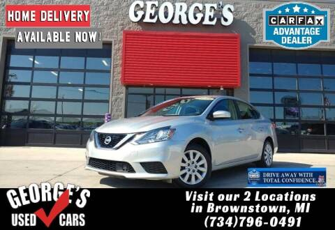 2018 Nissan Sentra for sale at George's Used Cars - Telegraph in Brownstown MI
