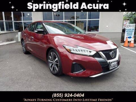 2019 Nissan Maxima for sale at SPRINGFIELD ACURA in Springfield NJ