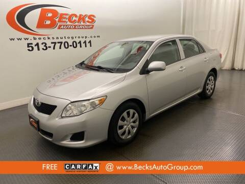2009 Toyota Corolla for sale at Becks Auto Group in Mason OH