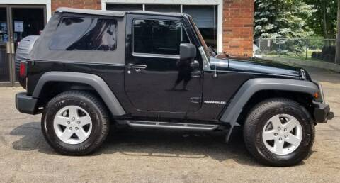 2008 Jeep Wrangler for sale at Modern Day Motor Cars LLC in Wadsworth OH