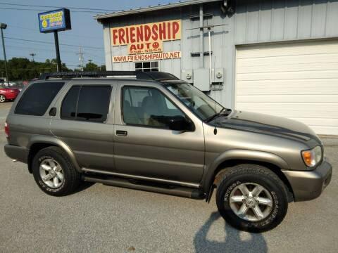 2004 Nissan Pathfinder for sale at Friendship Auto Sales in Broken Arrow OK