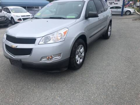 2012 Chevrolet Traverse for sale at U FIRST AUTO SALES LLC in East Wareham MA