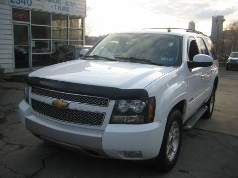 2012 Chevrolet Tahoe for sale at B. Fields Motors, INC in Pittsburgh PA