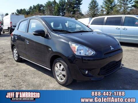 2015 Mitsubishi Mirage for sale at Jeff D'Ambrosio Auto Group in Downingtown PA