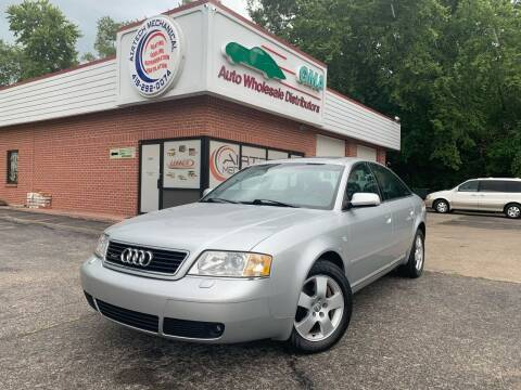 2001 Audi A6 for sale at GMA Automotive Wholesale in Toledo OH