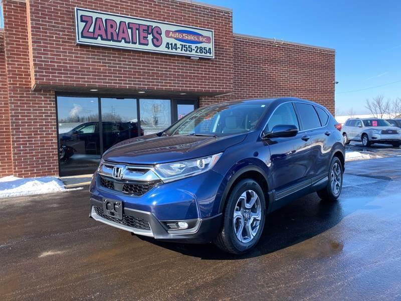 2018 Honda CR-V for sale at Zarate's Auto Sales in Caledonia WI