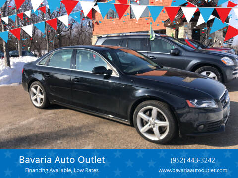 2011 Audi A4 for sale at Bavaria Auto Outlet in Victoria MN
