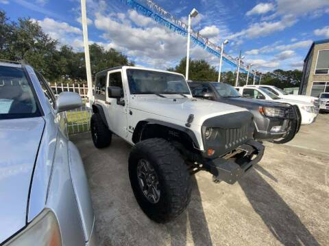 2009 Jeep Wrangler for sale at Lone Star Auto Center in Spring TX