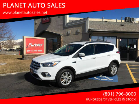 2018 Ford Escape for sale at PLANET AUTO SALES in Lindon UT