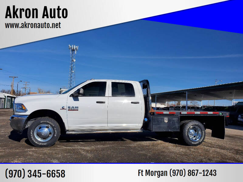 2018 RAM Ram Chassis 3500 for sale at Akron Auto in Akron CO