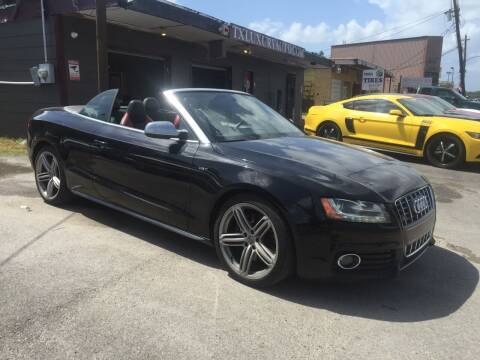 2010 Audi S5 for sale at Texas Luxury Auto in Houston TX