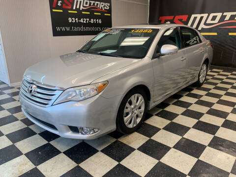 2012 Toyota Avalon for sale at T & S Motors in Ardmore TN