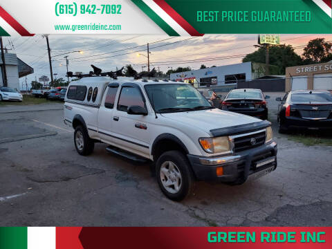 2000 Toyota Tacoma for sale at Green Ride Inc in Nashville TN