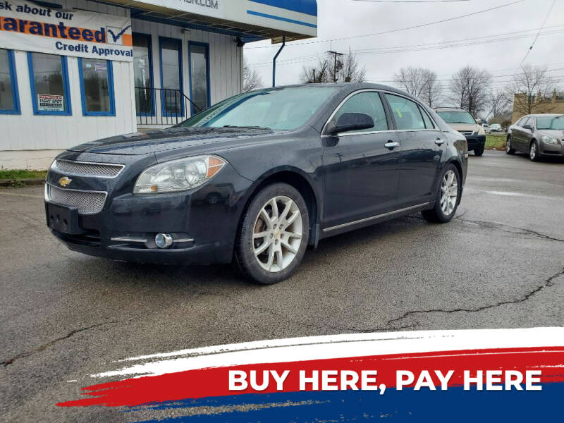 2012 Chevrolet Malibu for sale in Youngstown, OH