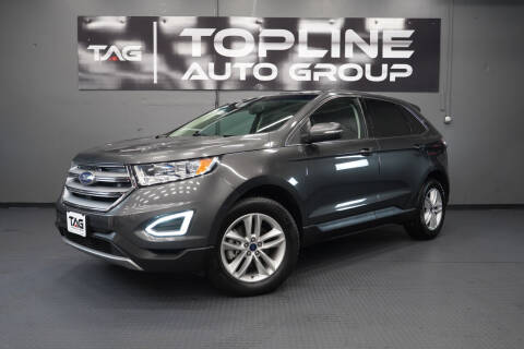 2017 Ford Edge for sale at TOPLINE AUTO GROUP in Kent WA