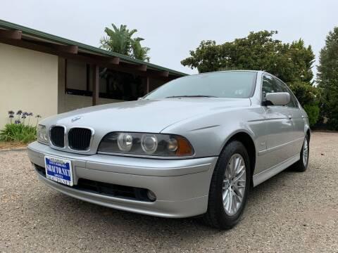2003 BMW 5 Series for sale at Santa Barbara Auto Connection in Goleta CA