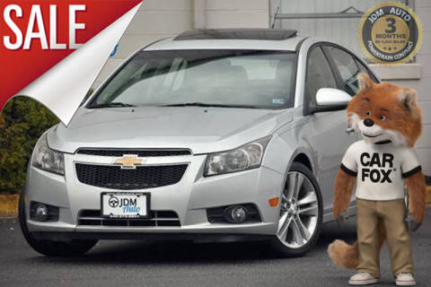 2012 Chevrolet Cruze for sale at JDM Auto in Fredericksburg VA