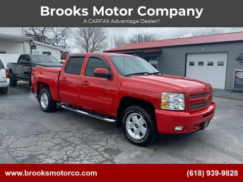 2011 Chevrolet Silverado 1500 for sale at Brooks Motor Company in Columbia IL