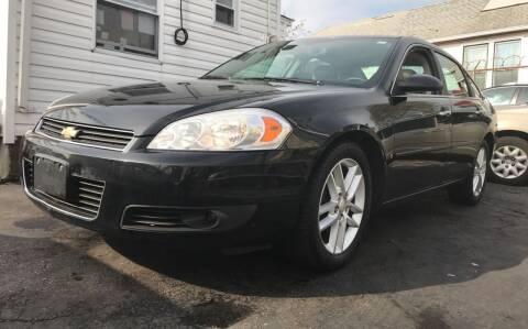 2008 Chevrolet Impala for sale at Cypress Motors of Ridgewood in Ridgewood NY