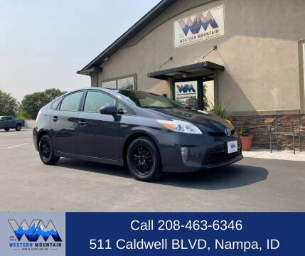 2013 Toyota Prius for sale at Western Mountain Bus & Auto Sales in Nampa ID