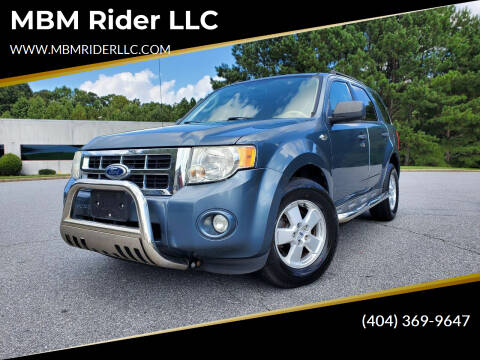 2010 Ford Escape for sale at MBM Rider LLC in Alpharetta GA