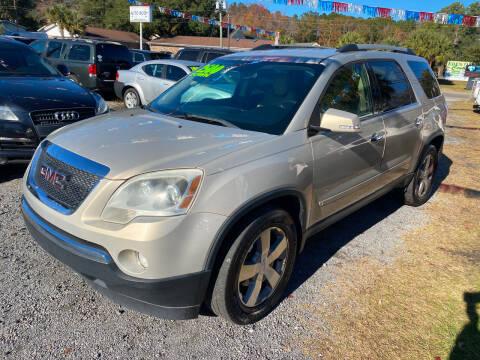 2010 GMC Acadia for sale at Auto Mart - Dorchester in North Charleston SC