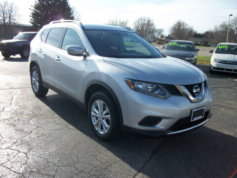 2015 Nissan Rogue for sale at USED CAR FACTORY in Janesville WI