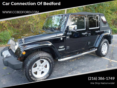 2009 Jeep Wrangler Unlimited for sale at Car Connection of Bedford in Bedford OH