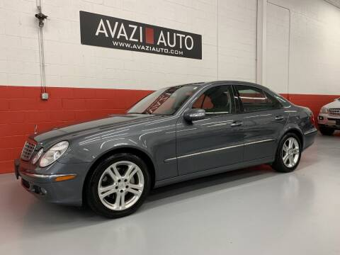 2006 Mercedes-Benz E-Class for sale at AVAZI AUTO GROUP LLC in Gaithersburg MD