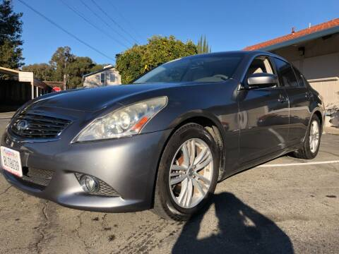 2010 Infiniti G37 Sedan for sale at Martinez Truck and Auto Sales in Martinez CA