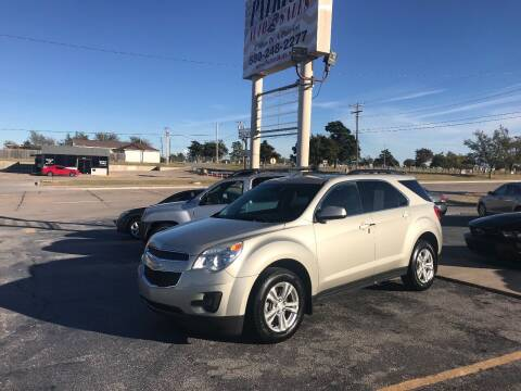 2014 Chevrolet Equinox for sale at Patriot Auto Sales in Lawton OK