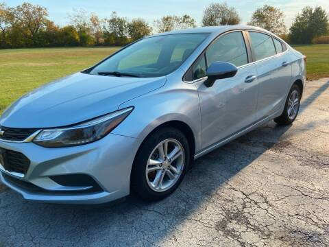 2017 Chevrolet Cruze for sale at EAGLE ONE AUTO SALES in Leesburg OH