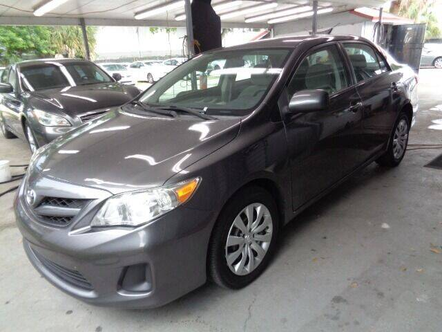 2012 Toyota Corolla for sale at Z Motors in North Lauderdale FL