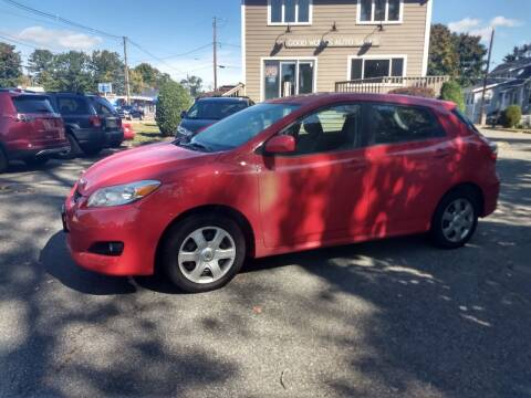 2010 Toyota Matrix for sale at Good Works Auto Sales INC in Ashland MA