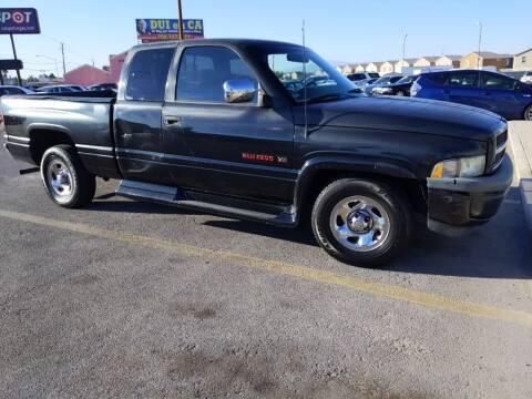 1997 Dodge Ram Pickup 1500 for sale at Car Spot in Las Vegas NV