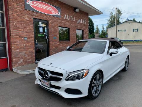 2017 Mercedes-Benz C-Class for sale at Elmwood D+J Auto Sales in Agawam MA